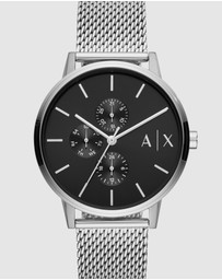 Armani Exchange - Silver-Tone Analogue Watch