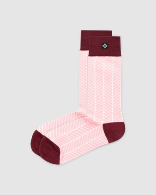 Sockdaily Mistral 3 Sock Gift Box - Crew Socks (Multi)