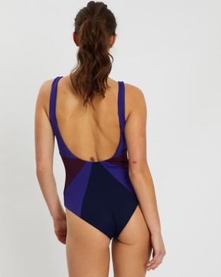 Horizon January 06:59 One Piece - One-Piece / Swimsuit (Blue Purple)