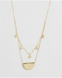By Charlotte - ICONIC EXCLUSIVE - Lotus of Hope Necklace
