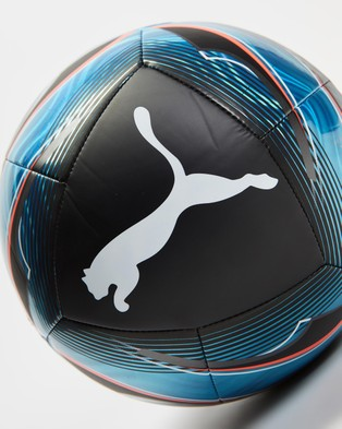 Puma ftblNXT ICON Soccer Ball - Training Equipment (Black & Luminous Blue)