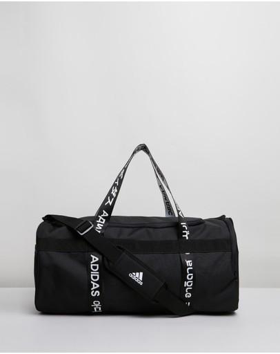 Adidas Performance 4athlts Medium Duffle Bag Black & White
