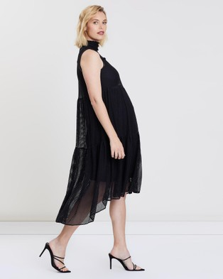 Bump Love Maternity Sienna Dress - Dresses (Black)