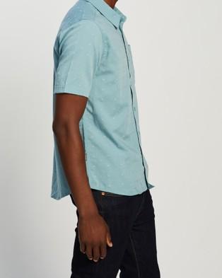 Icebreaker Compass Short Sleeve Shirt - Shirts & Polos (Waterfall)