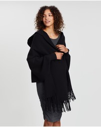 Angel Maternity - Maternity Wool Blend Cape