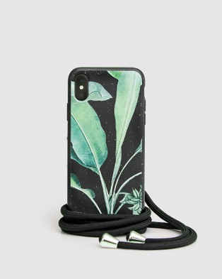 Belle & Bloom Into The Jungle Phone Case   iPhone 11 Pro - Tech Accessories (Black)