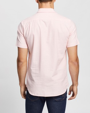 Lacoste SS Regular Fit Oxford Shirt - Casual shirts (Elfe)