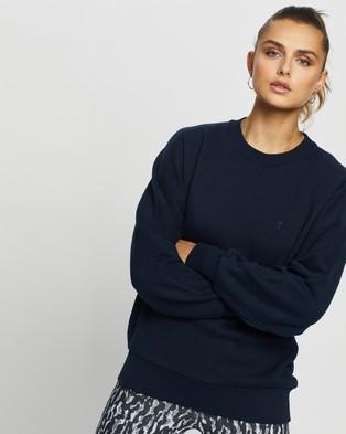 Sweaty Betty Essentials Sweatshirt - Sweats (Navy Blue)