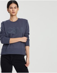 C & M Camilla and Marc - EXCLUSIVE Owens Crew Sweatshirt