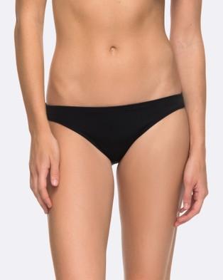 Roxy – Womens Roxy Essentials Surfer Separate Bikini Pant – Swimwear (Anthracite)