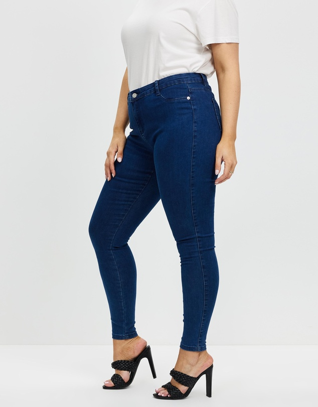 Women Anarchy Mid Rise Skinny Jeans