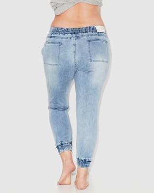 17 Sundays Loophole Joggers - Jeans (Ice Indigo)