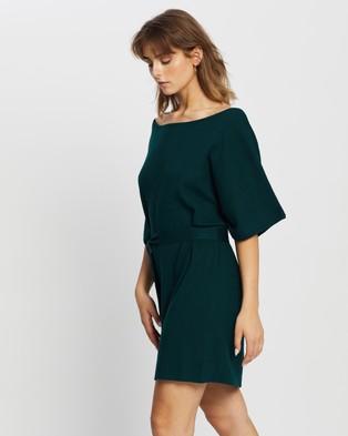Tussah - Camina Knit Dress - Dresses (Emerald) Camina Knit Dress