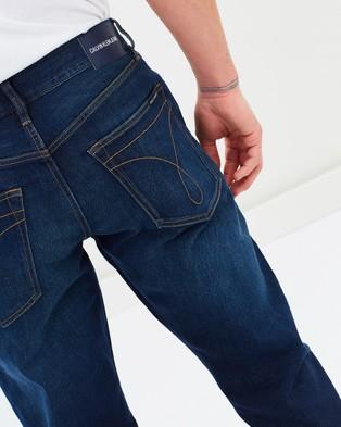 Calvin Klein Jeans Straight Fit Jeans - Jeans (Houston Dark Tint)