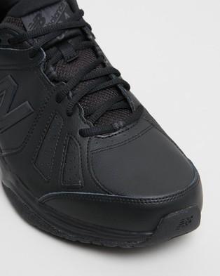 New Balance 624 Cross Trainers   Men's - Training (Black)