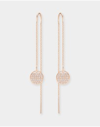 Swarovski - Ginger Chain Pierced Earrings
