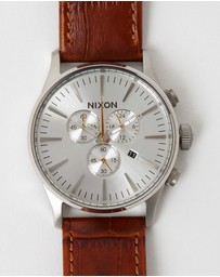 Nixon - The Sentry Chrono Leather