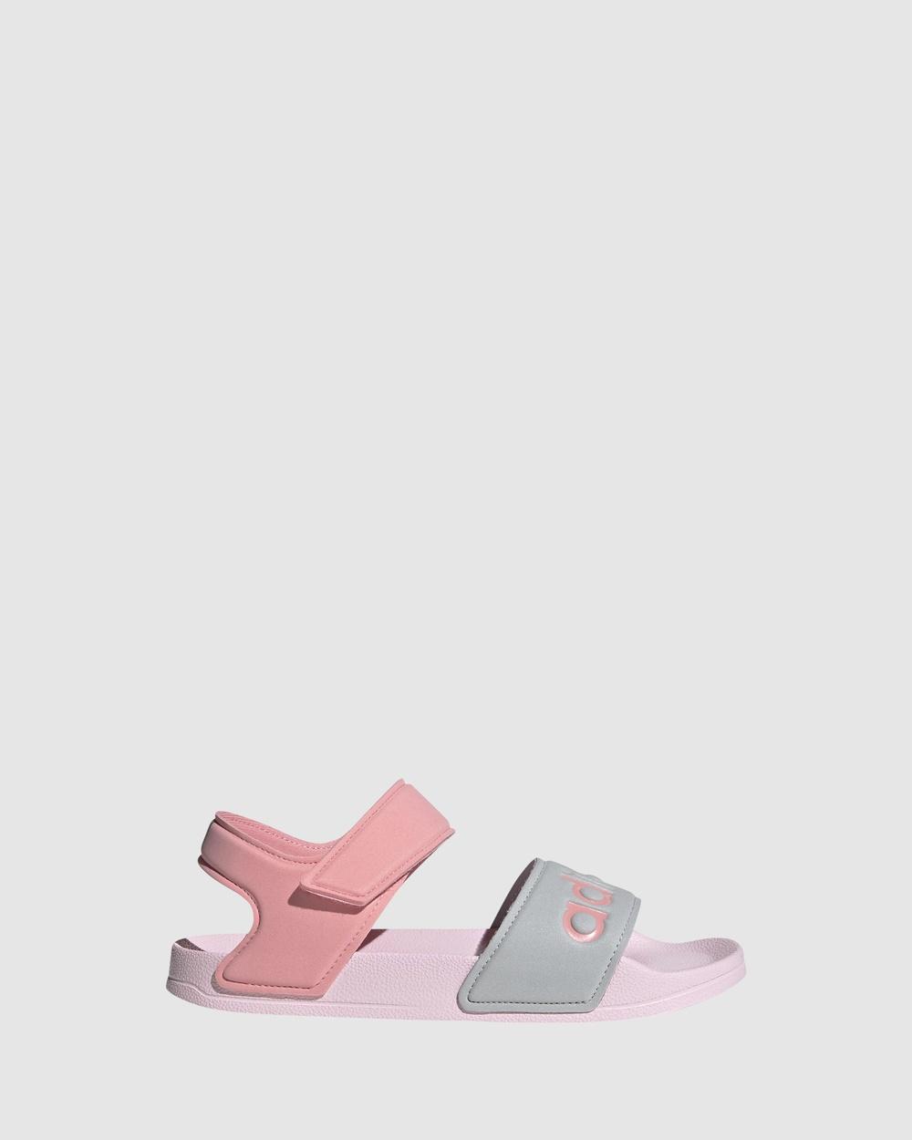 adidas Performance Adilette Sandal K Sandals Pink/Silver