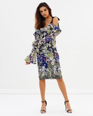 Ministry of Style – Gardenia Midi Dress – Dresses (Gardenia)