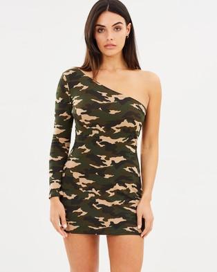 Dahli – One Soldier Army Dress – Bodycon Dresses Camo