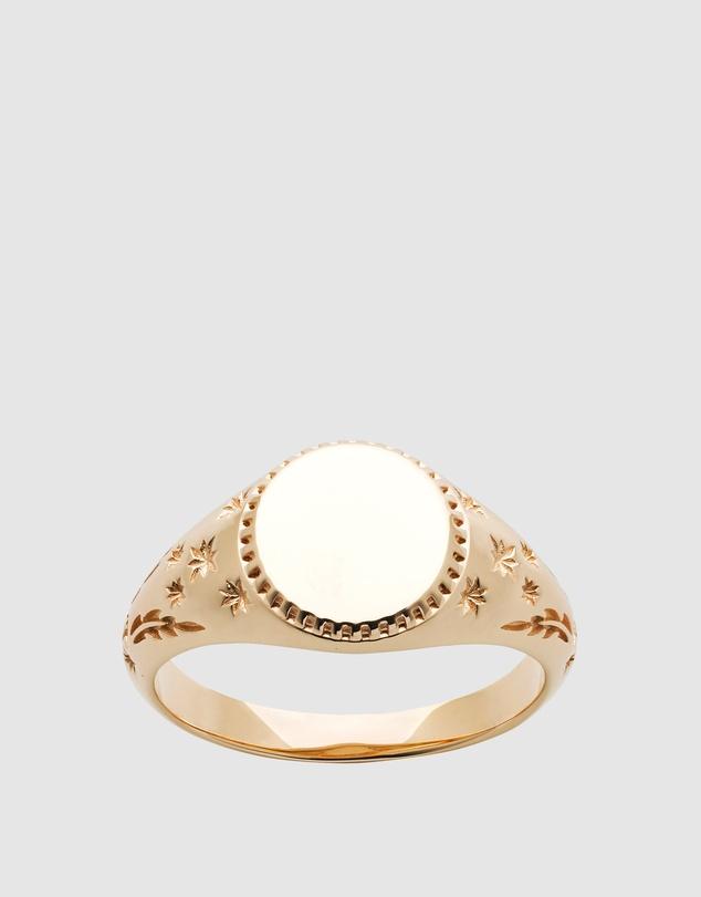 Women Society Signet Ring