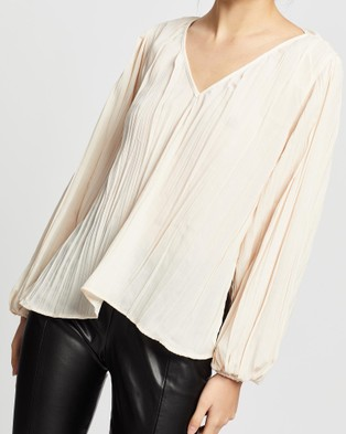 Wish The Label Kaia Blouse - Tops (Cream)