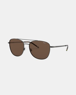 Polo Ralph Lauren PH3127 - Sunglasses (Gunmetal)