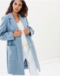 Miss Selfridge - Balloon Sleeve Coat
