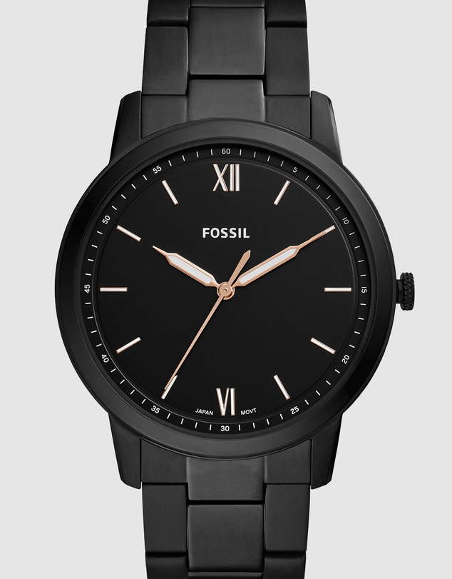 Fossil - The Minimalist 3H Black Analogue Watch