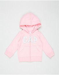 Logo Hoodie Fleece Sweat - Kids