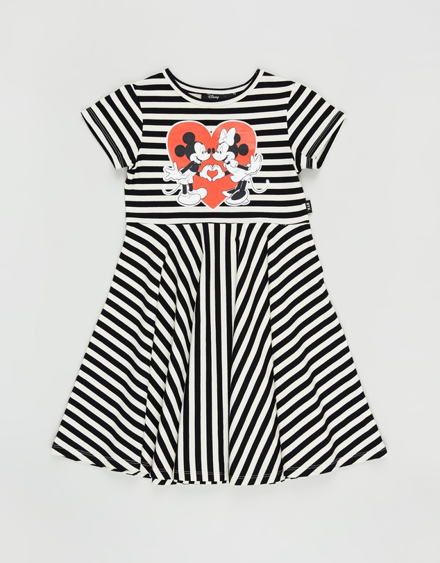 Rock Your Kid - ICONIC EXCLUSIVE - One True Love Waisted Dress - Kids-Teen