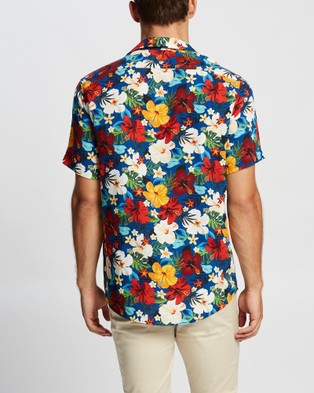Marcs Matisse SS Shirt - Shirts & Polos (Blue Multi )