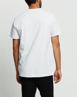 Mr Simple - Reginald Tee - T-Shirts & Singlets (White) Reginald Tee