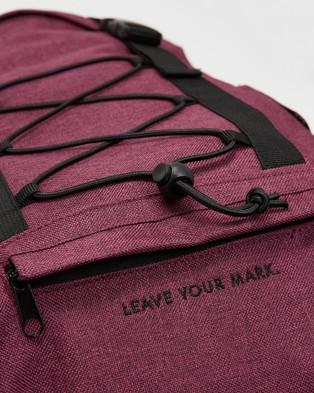 Doyoueven Utility Backpack - Backpacks (Burgundy)