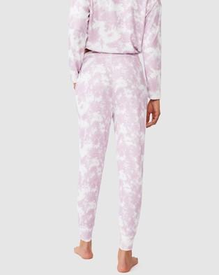Cotton On Body Supersoft Slim Fit Pants - Joggers (Mellow Mauve Tie Dye)