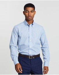 BROOKS BROTHERS - Broadcloth Yarn Dye Milano Shirt
