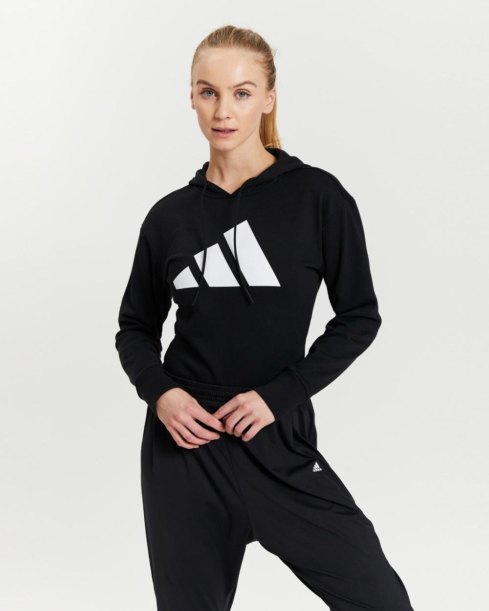 adidas Performance Future Icons Leotard Long Sleeve T-Shirts Black
