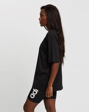 adidas Originals - Loungewear Adicolor Essentials Tee Short Sleeve T-Shirts (Black)