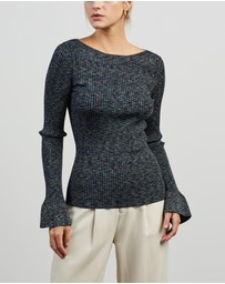 Theory - Boatneck Pullover