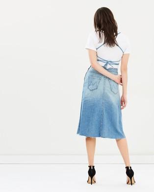 Mother Denim – The Back Midi Dress – Dresses (When Sparks Fly)
