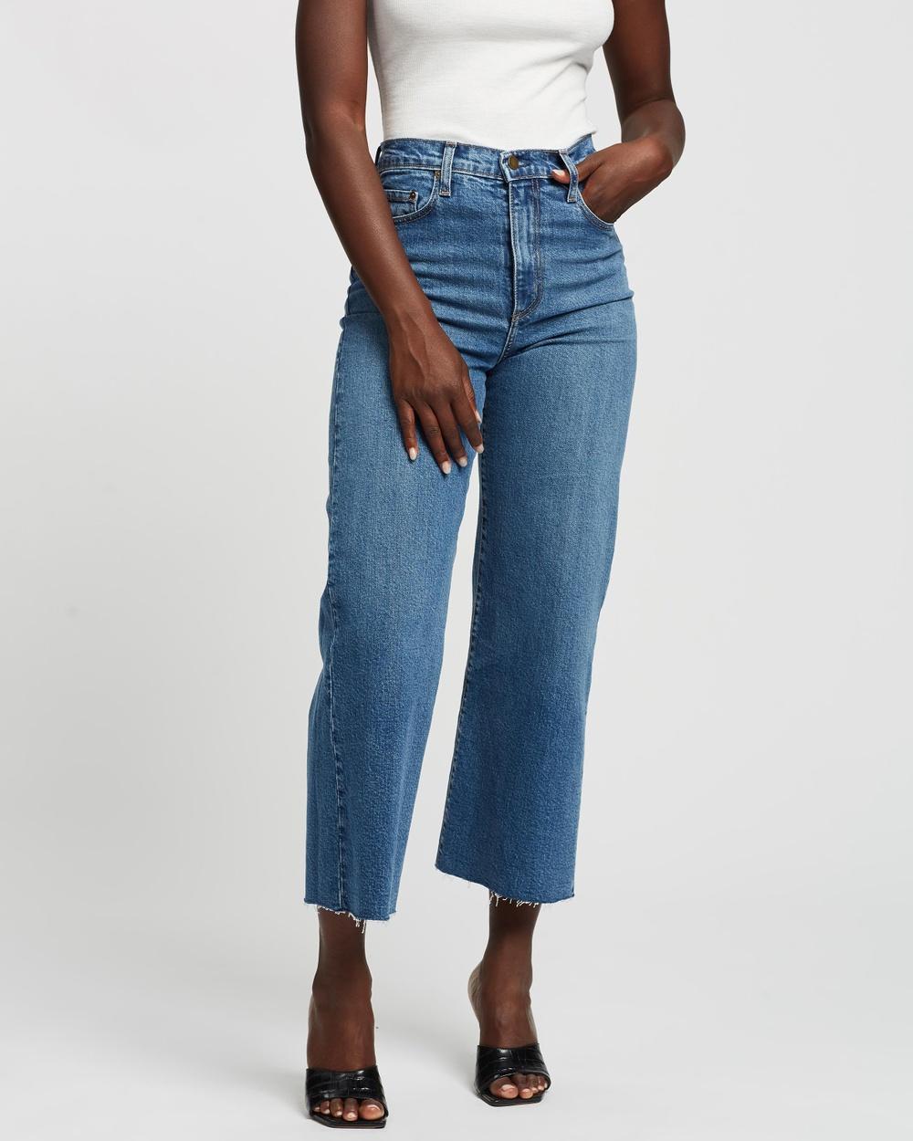Nobody Denim Milla Wide High Rise Jeans High-Waisted Freedoms Australia