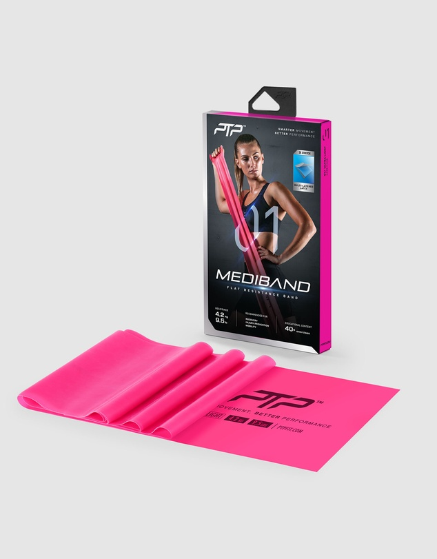 Women Resistance Pack Level 1 - MediBand + MicroBand + PowerTube+