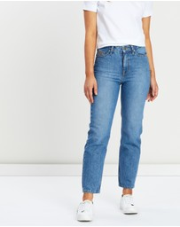 Tommy Hilfiger - Straight Fit Jeans with Monogram