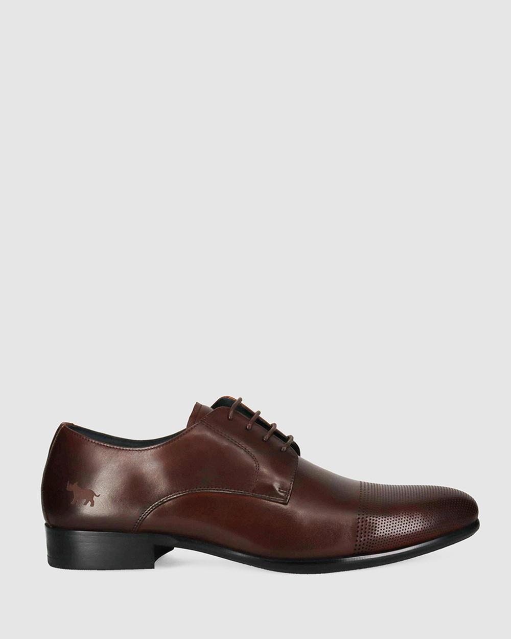 Wild Rhino Spring Dress Boots Dark Brown