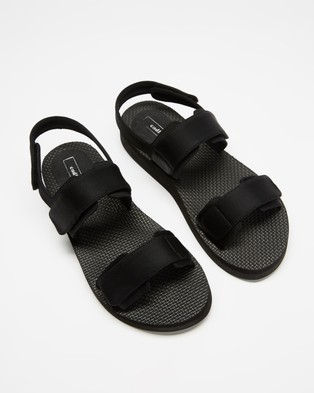 Endless - Summer Sandals (Black Neoprene)