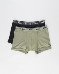Bonds Kids - Organic Trunks 2-Pack - Teens