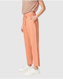 French Connection - French Linen Relaxed Pants