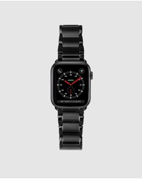 Casetify - Black Metal Link Bracelet Apple Watch Band - 38mm / 40mm