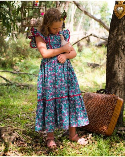 Coco & Ginger - Lilas Dress - Kids