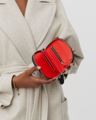 Saben Hannah Small Leather Wallet - Wallets (black)